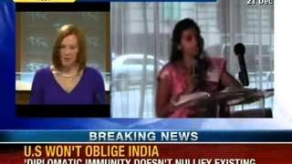 NewsX: Devyani Khobragade case- U.S goes back to rule book - NEWSXLIVE