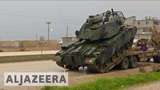 Turkey 🇹🇷 increases military presence along border near Syria's Afrin 🇸🇾 - ALJAZEERAENGLISH