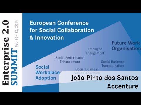#e20s 2014 | João Pinto dos Santos, Accenture | Getting Social Aligned to Processes