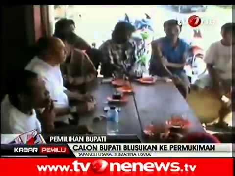 Drs Nikson Nababan Blusukan dan Bersosialisasi di Kecamatan Muara