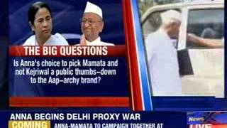 Is team Anna now team Mamata ? - NEWSXLIVE