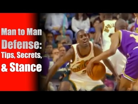 Basketball Defense Tips, Techniques & Stance - Man to Man Defense