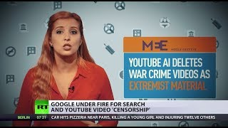 Machines Know Better? Google under fire for search & YouTube video 'censorship' - RUSSIATODAY