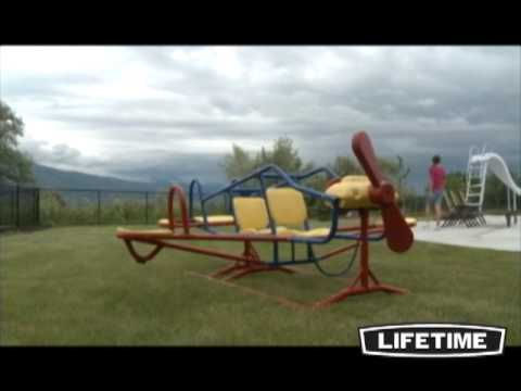 Ace Flyer Airplane Teeter Totter (Primary)