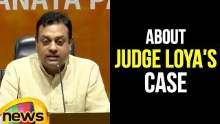 Sambit Patra Speaks About Judge Loya's Case | Mango News - MANGONEWS