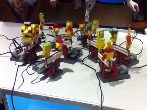 HARLEM SHAKE con Lego Wedo