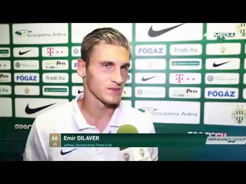 FM | FTC-Dunaújváros 2-0 után - Emir Dilaver értékel | 2014.08.29.
