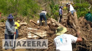 Puerto Rico continues to struggle a month after Hurricane Maria - ALJAZEERAENGLISH