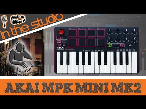 Akai MPK Mini MK2 - Laptop Production Keyboard and Controller
