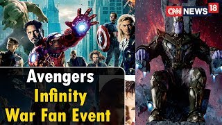Avengers: Infinity War Red Carpet Fan Event | Rajeev Masand Special | Now Showing | CNN News18 - IBNLIVE