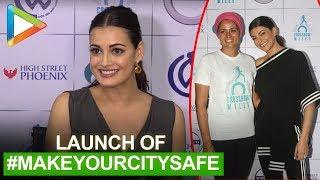 Sushmita Sen & Dia Mirza at Srishti Bakshi night walk for #MakeYourCitySafe campaign | part 2 - HUNGAMA