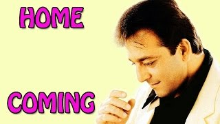 Sanjay Dutt returns Home! - EXCLUSIVE