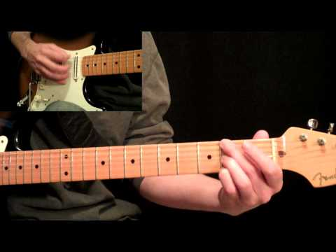 Stevie Ray Vaughan - Pride And Joy Guitar Lesson Pt.3 - 3rd Twelve Bar Progression