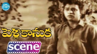 Pelli Kanuka Movie Scenes - ANR Falls In Love With Saroja Devi || Krishna Kumari || Jaggayya - IDREAMMOVIES