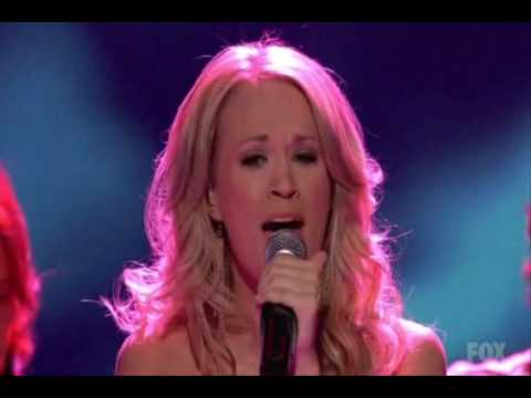 Carrie Underwood I ll Stand by You American Idol Finale