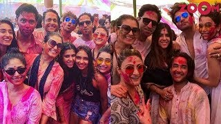 Ekta Kapoor throws Holi party for her friends & TV Celebs | Telly Scope - ZOOMDEKHO
