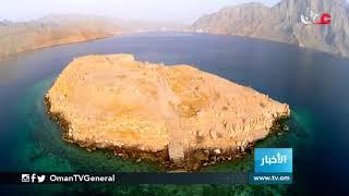 جزيرة التلغراف بمحافظة #مسندم ... أول محطة للانصالات الحديثة بالخليج العربي