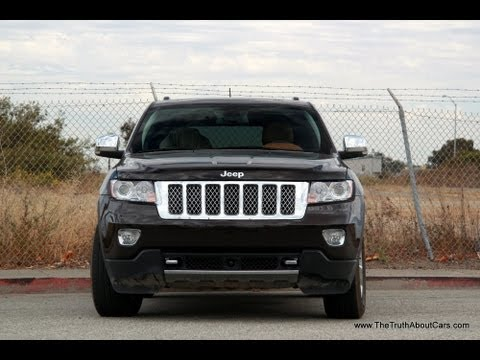 2013 Jeep Grand Cherokee Overland Summit 4x4 Review