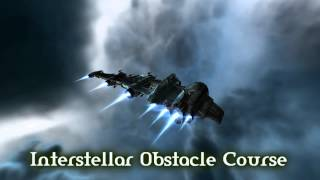 Royalty Free Interstellar Obstacle Course:Interstellar Obstacle Course