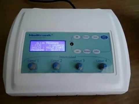 Electroestimulador electrodos ondas rusas australianas tens cuadradas