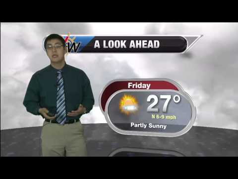 Friday February 27 Morning Forecast