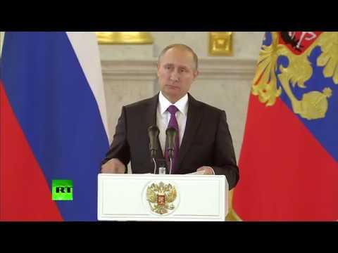 9.11.2016 Владимир Путин прокомментировал победу Дональда Трампа