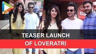 AAYUSH SHARMA AND WARINA HUSSAIN Watch his teaser of Movie Love Ratri - HUNGAMA