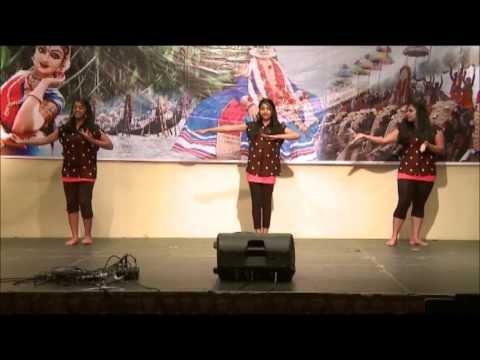 KHA Onam Celebration 'Onam Ponnonam 2013' Cinematic Dance By Roshni, Gayatri & Arya