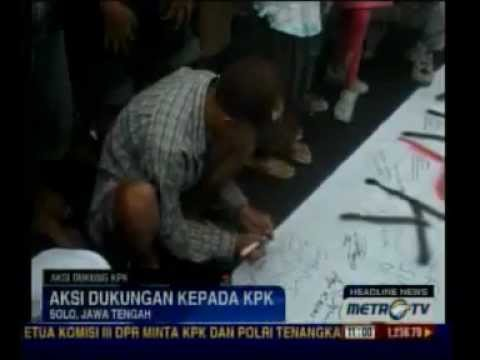 #SaveKPK! - Aliansi Mahasiswa UNS - Courtesy (www.metrotvnews.com)