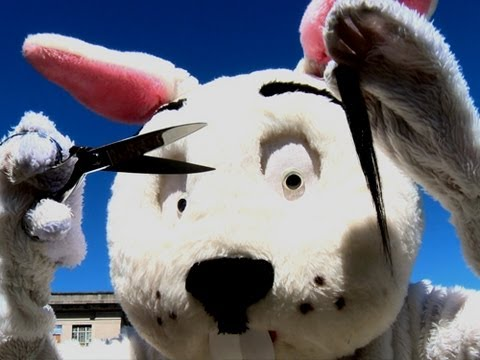 The Meanster Bunny Prank!!