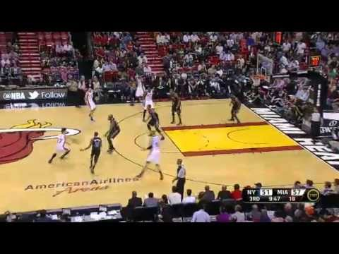 [Full Highlights] Jeremy Lin Knicks vs. Heat  2012.2.23