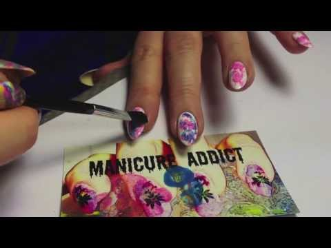 Impressionist/Watercolor Nail Art Tutorial