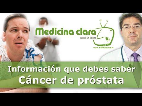 ¿Qué es es cáncer de próstata?¿Cual es su tratamiento o cómo se cura?