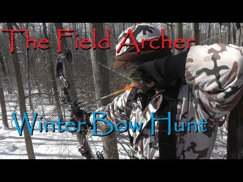 BOWHUNTING: Winter Bow Deer Hunt