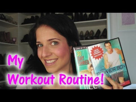 My Workout Routine! - Laura's Topics Starring Laura Vitale