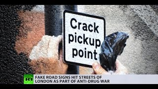 Sign of the times: Londoners take law into their own hands in fight against drug crime - RUSSIATODAY