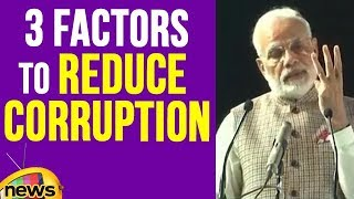 PM Modi Talks About 3 Factors That Helped To Reduce Corruption | Mango News - MANGONEWS