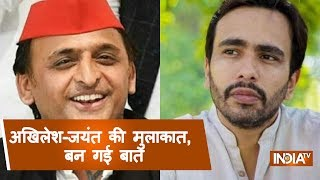 RLD's Jayant Chaudhary Meets Akhilesh Yadav Over Seat-Sharing - INDIATV