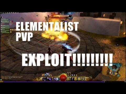 POWERFUL ELEMENTALIST EXPLOIT in SPvP | Guild Wars 2 Elementalist PvP Build