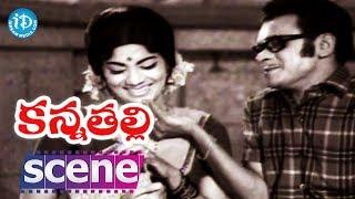 Kanna Thalli Movie Scenes - Raja Babu Mocking His Friend    Sobhan Babu    Savitri - IDREAMMOVIES