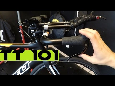 Time Trial / Triathlon Bike For Begginers - How It Shifts And Brakes + Room Tour...