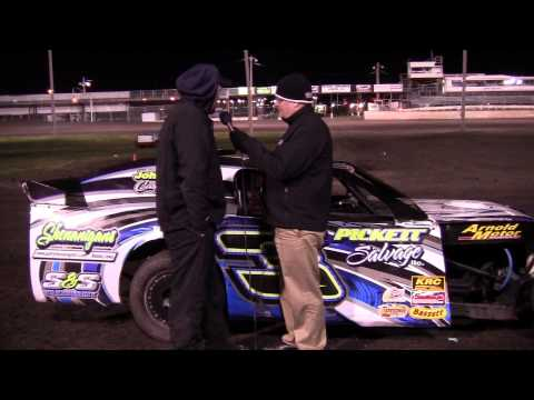 Randy Roberts - Northern SportMod Feature Winner at Boone Speedway 4/20/13