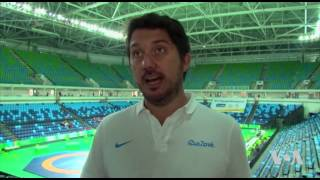 Olympics Technology Center Getting Ready for 2016 Games - VOAVIDEO