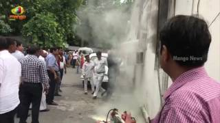 Fire Breaks Out At Congress Headquarters | Delhi | Mango News - MANGONEWS