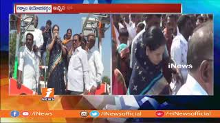 Congress Leader DK Aruna Election Campaign In Gajwel Constituency | iNews - INEWS