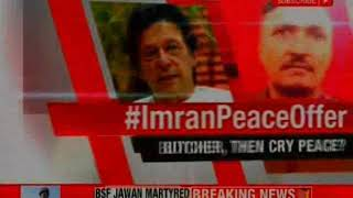 Mohit Kumar, martyr's son speaks to NewsX over 'Imran Peace Offer' - NEWSXLIVE