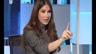 ديما صادق تعرض أخبار عن جلد مسيحيين والضيف ينسحب - e3lam.org