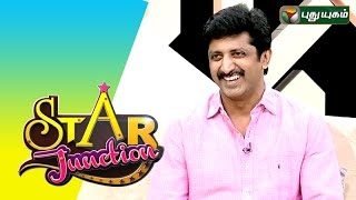 Director M. Raja in Star Junction – PuthuYugam TV Show