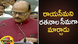 Yanamala About The Development Of Rayalaseema | AP Assembly Budget Session 2019 | Mango News - MANGONEWS