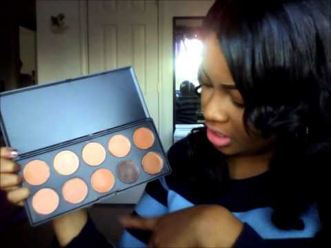 Tmart 10 color concealer palette review